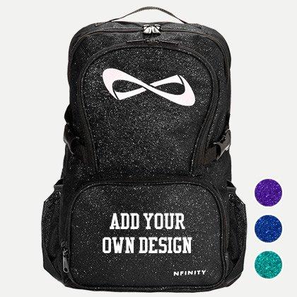 Custom Nfinity Sparkle Bag