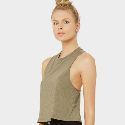 7d8f91621fc Raw Edge Crop Tank Top