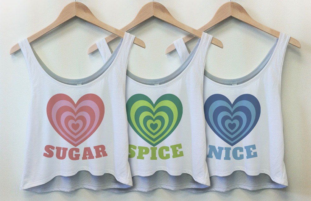 Sugar and Spice and Nice Best Friend Shirts