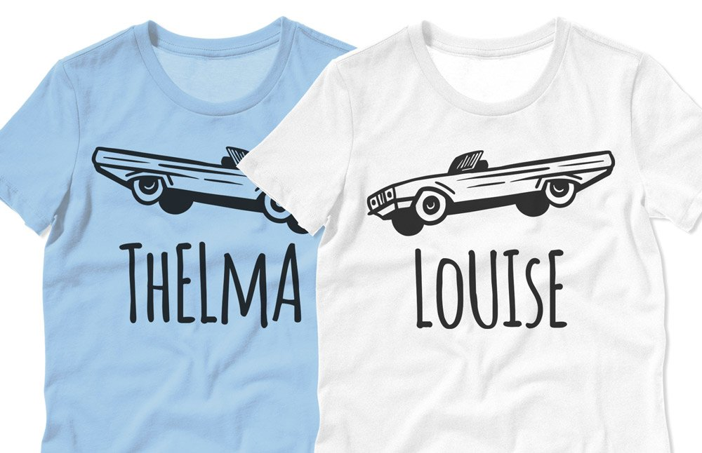 Thelma and Louise Matching Best Friend Shirts