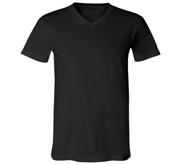 Unisex Canvas V-Neck Jersey T-Shirt
