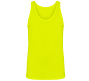 Unisex Canvas Jersey Neon Tank Top