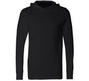 Unisex Long Sleeve Hooded T-Shirt