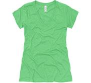 Junior Fit Deep V-Neck T-Shirt