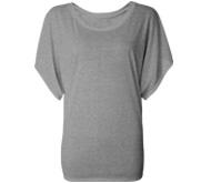 Bella Flowy Draped Sleeve T-Shirt