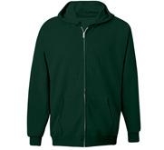 Unisex Hanes Ultimate Cotton Full Zip Hood
