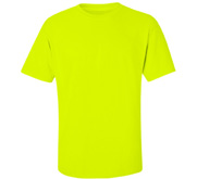 Unisex Cotton Safety Neon T-Shirt