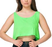 American Apparel Neon Crop Top