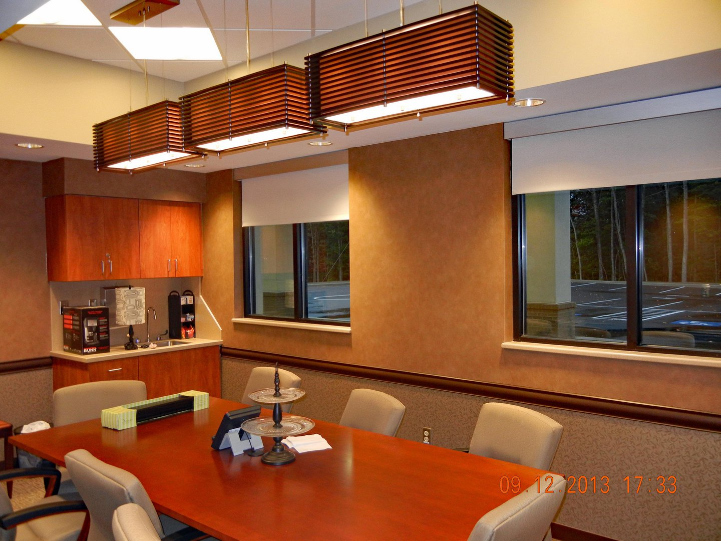 FMC Beckley interior conference table
