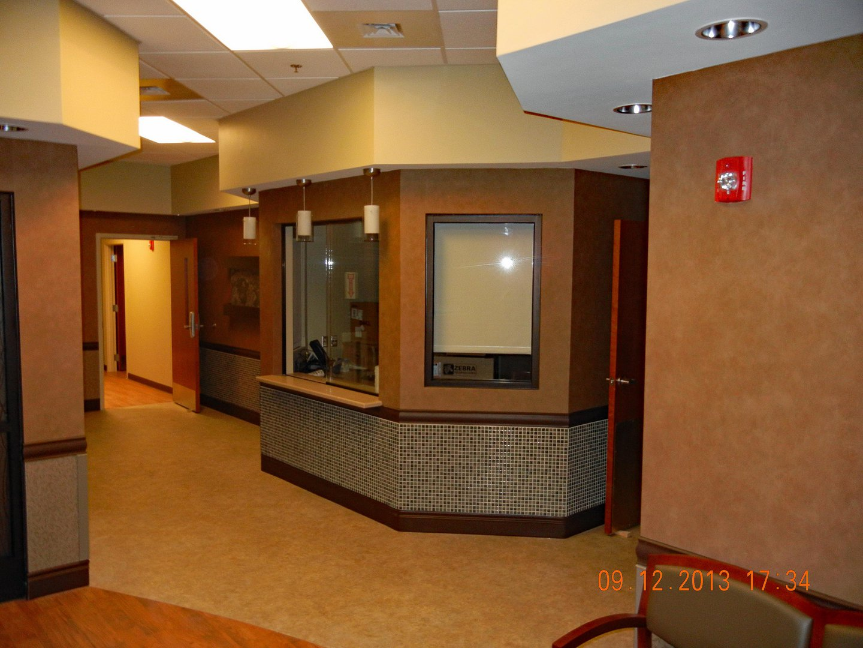 FMC Beckley interior reception