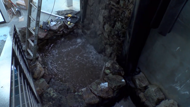 Jackson Sumner Water Feature Under Const