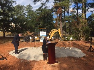 LRU Columbia Ground Breaking