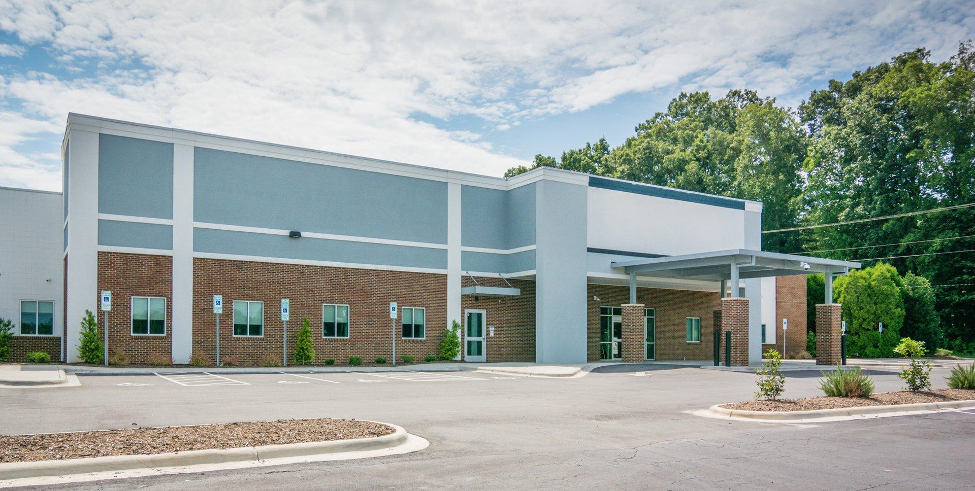 Carolinas Healthcare System Blue Ridge exterior
