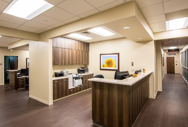 Carolinas Healthcare System Blue Ridge receptionist area