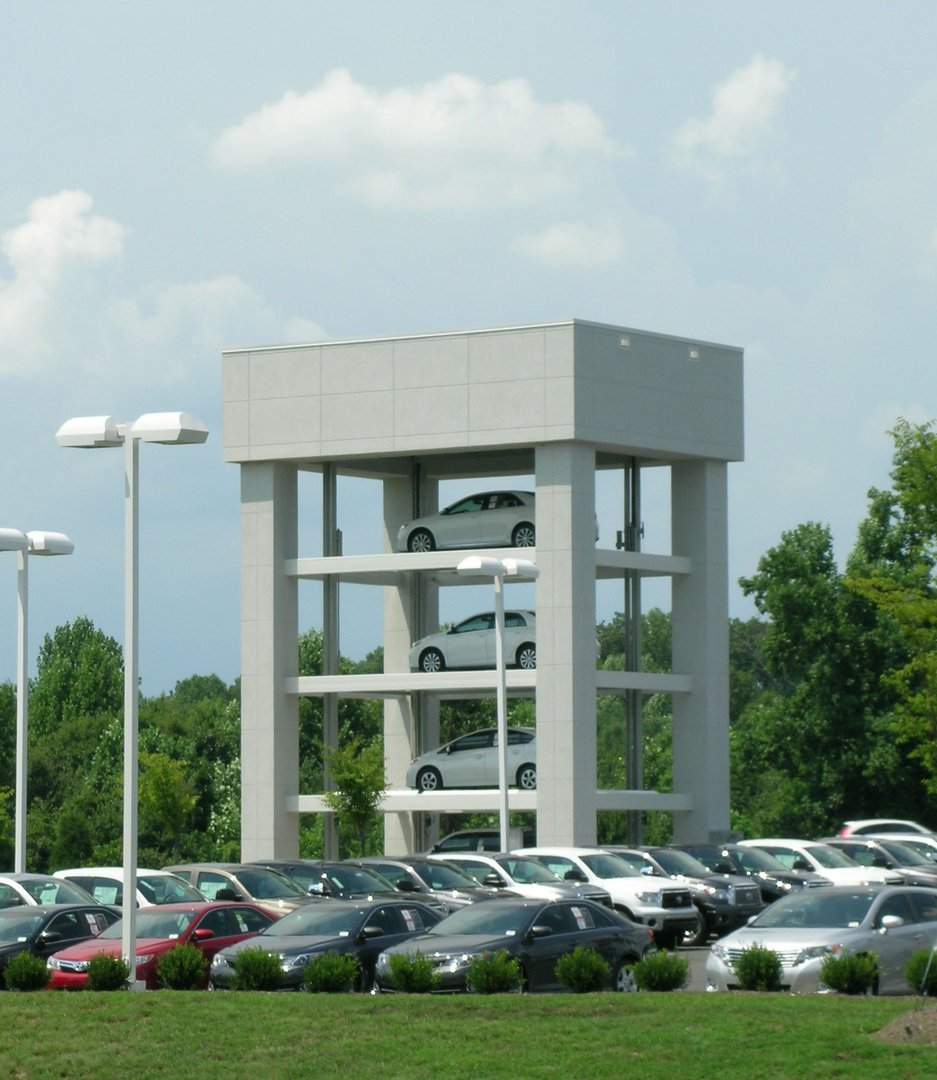 Mike Johnson Toyota Car Tower