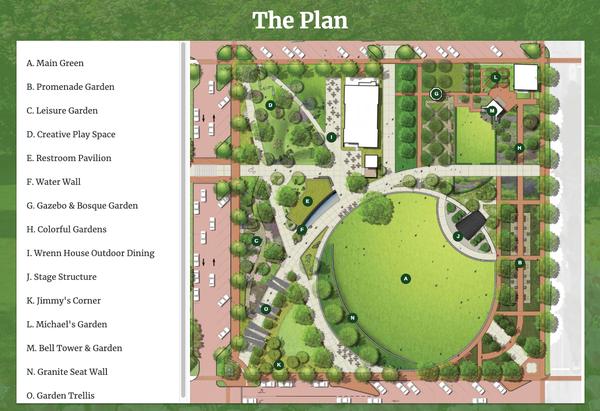 Bell Tower Plan