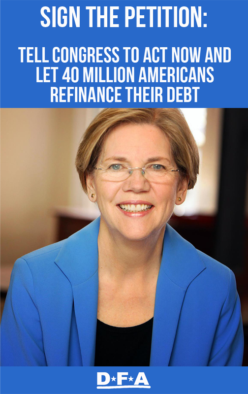 Sign the petition: Tell Congress to act now and let 40 Million Americans refinance their debt