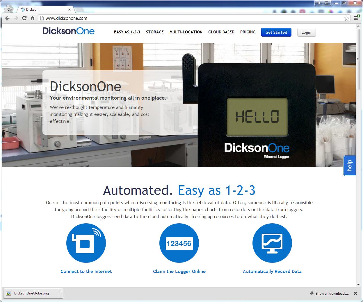 Dicksonone homepage 659