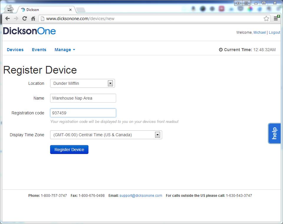 Registe device page 661