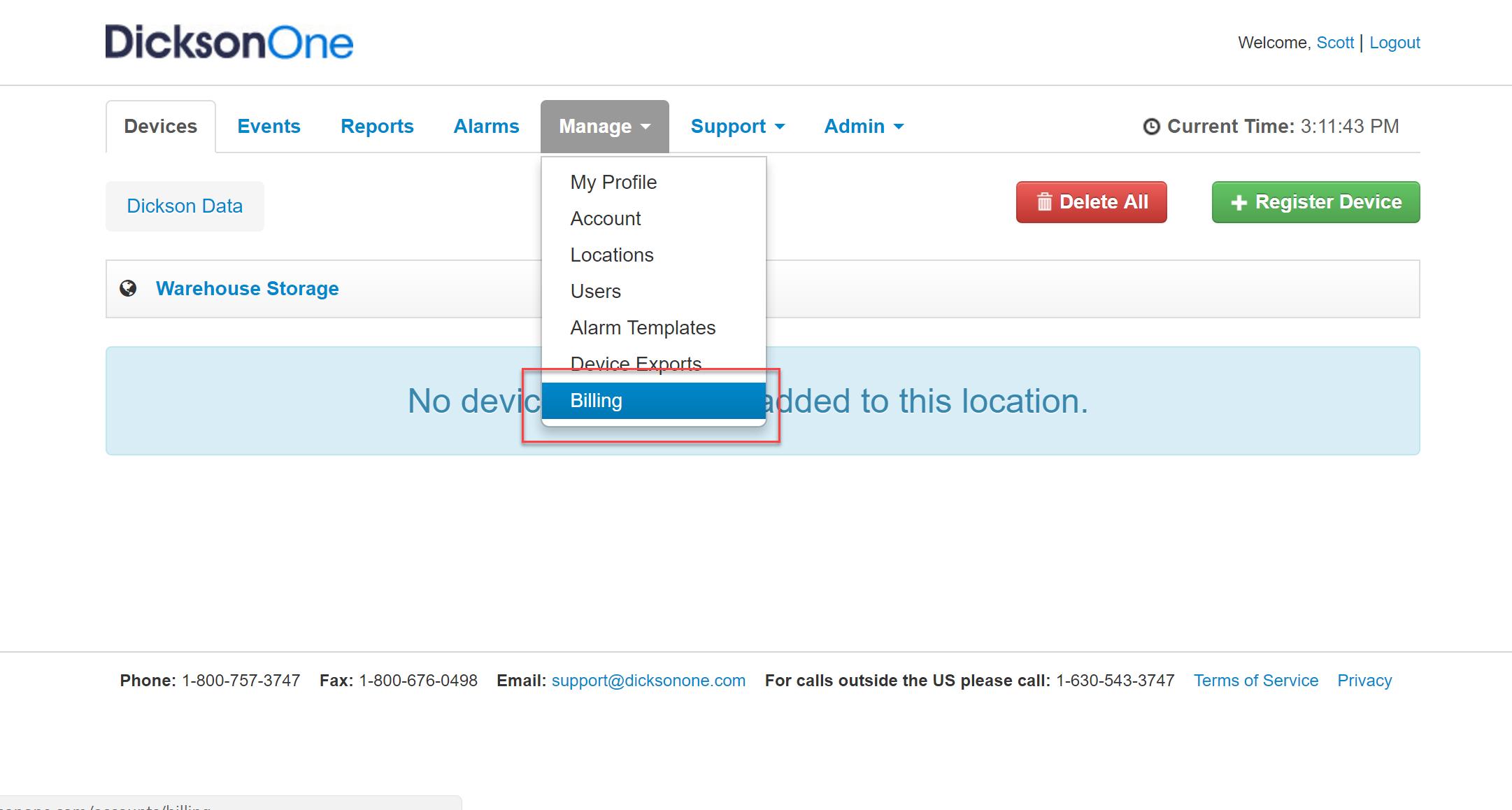 Activate account   billing 674