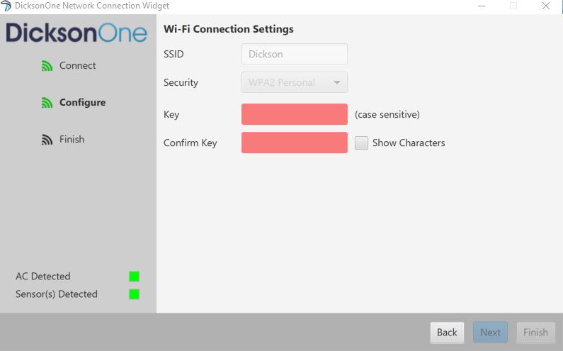 Wifi widget  credentials 673