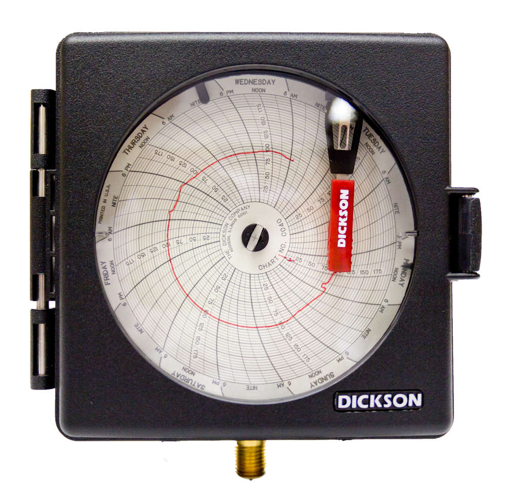 Pw470 4 101mm pressure chart recorder dickson