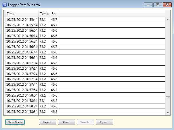 W2 logger tabular data 1716