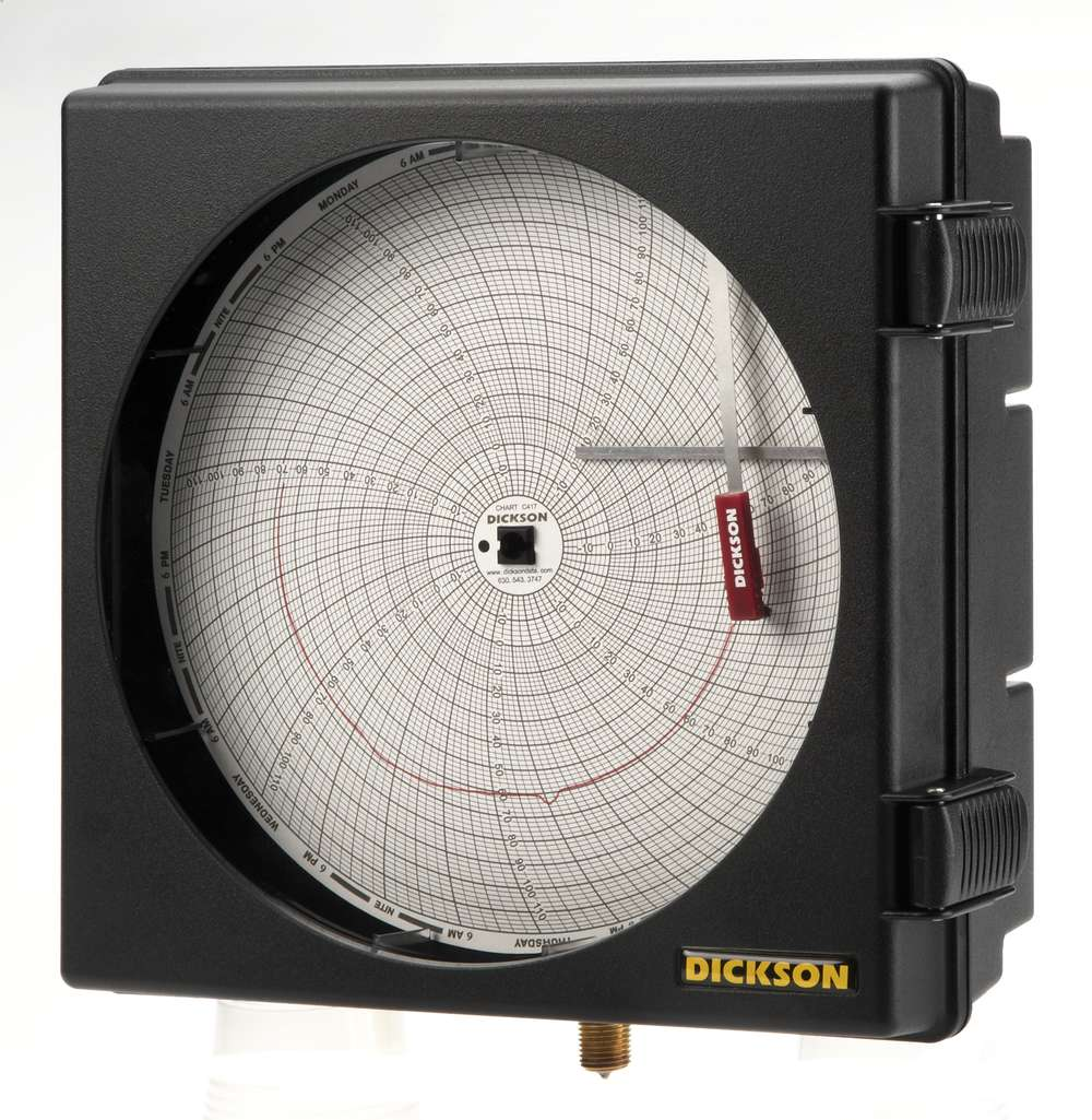 Pw867 8 203mm pressure chart recorder dickson