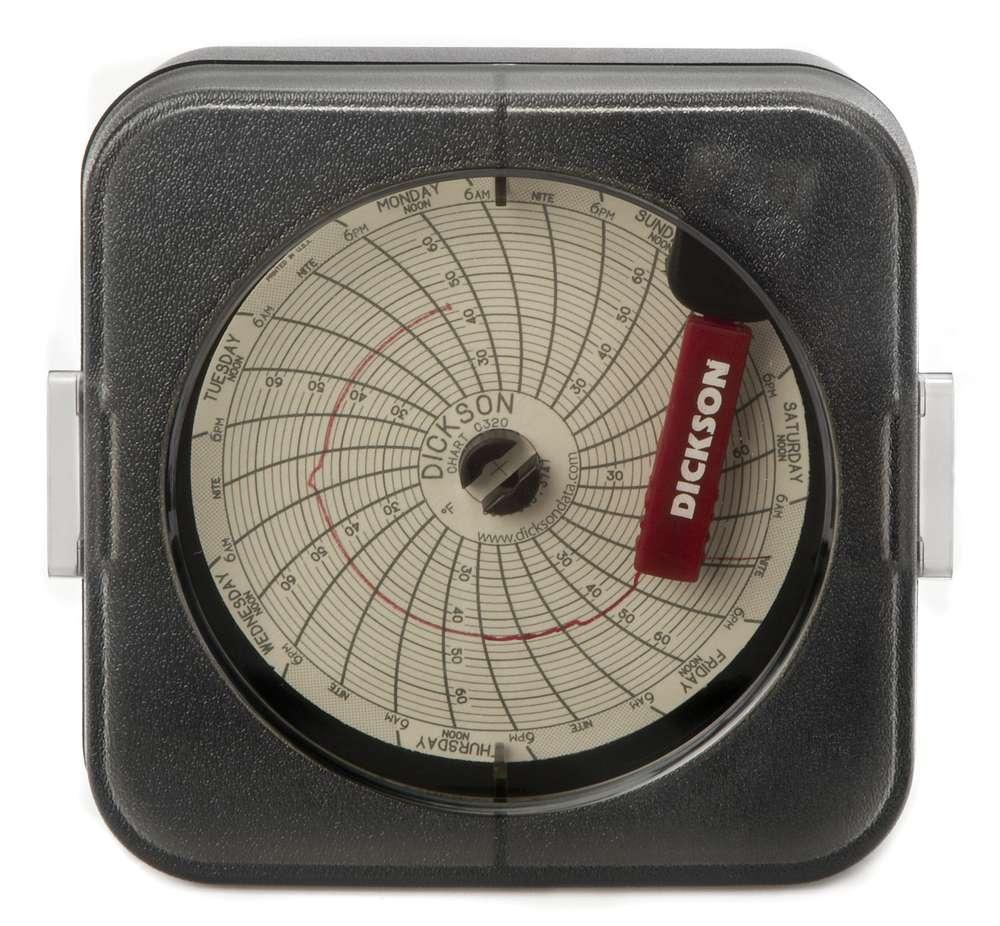 Sc387 3 76mm temperature chart recorder dickson