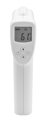 D186 infrared thermometer straight on rear 12432