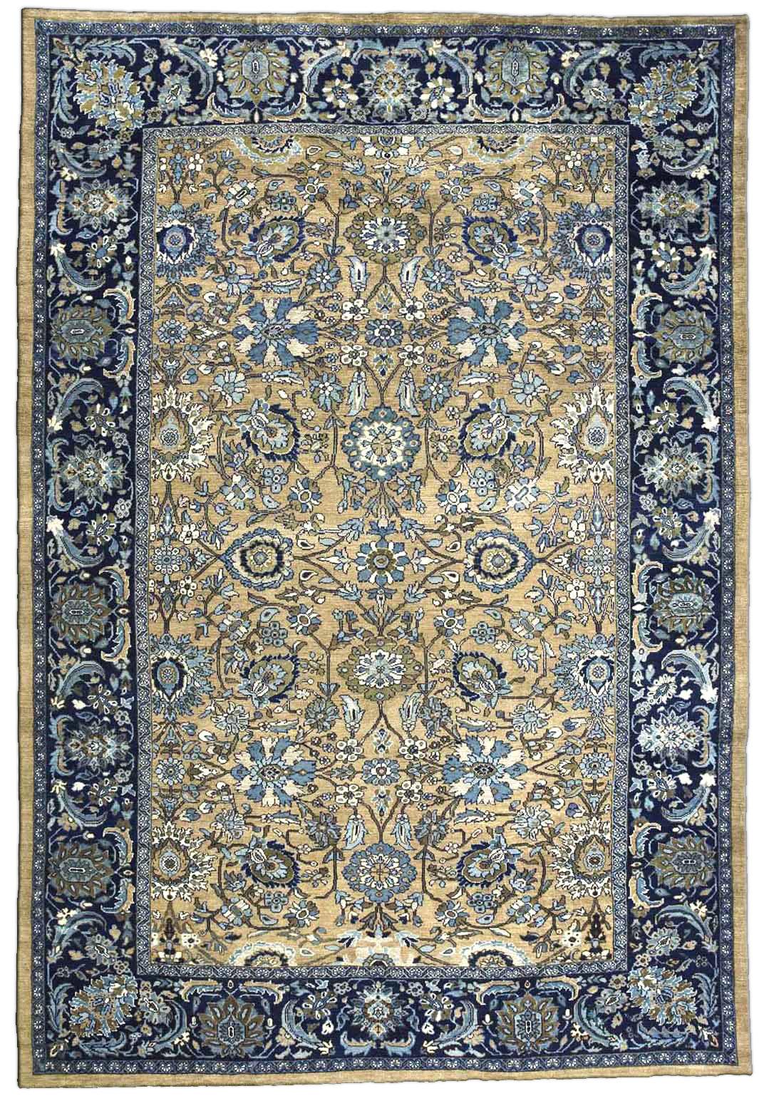 Persian Sultanabad Carpet Antique Persian Rug Antique