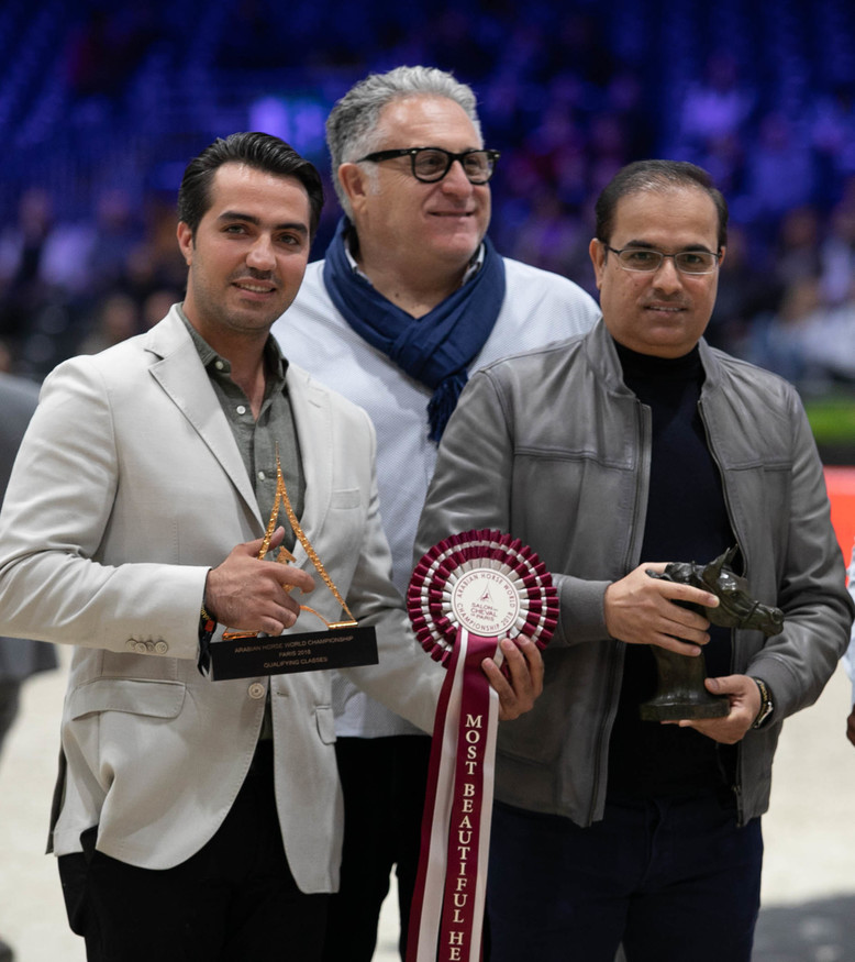 Arabian Horse World Championship 2018 - PARIS