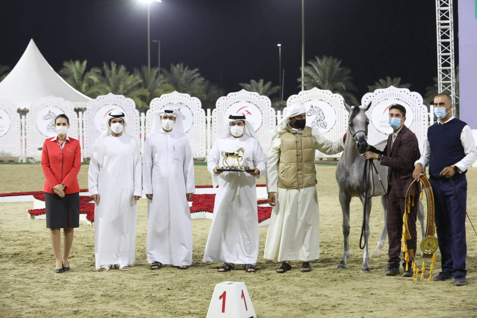 SHARJAH INTERNATIONAL ARABIAN HORSE FESTIVAL 2021