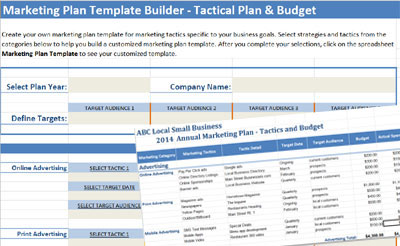 Marketing plan template builder cheaphphosting Choice Image