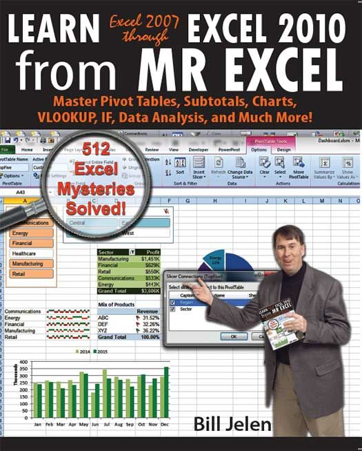 power excel with mrexcel master pivot tables subtotals charts vlookup if data analysis in excel 2010 2013