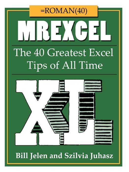 Xl 250 pdf mrexcel xl 40 greatest excel tips pdf ebook rh 211017 e junkie fandeluxe Gallery