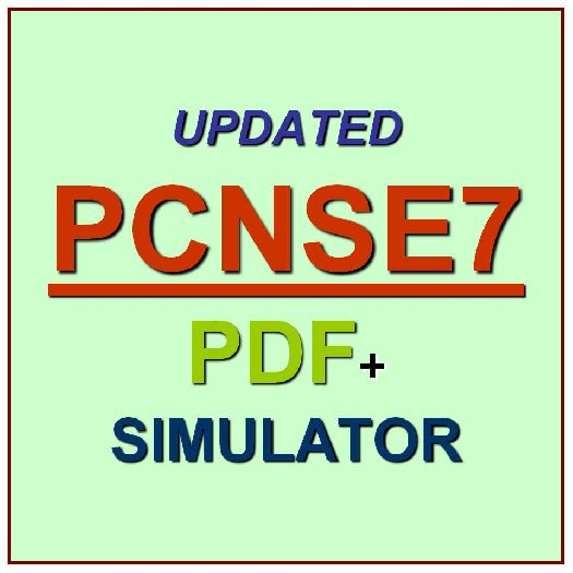 Palo Alto Networks Certified Network Security Test PCNSE7 Exam QA ...