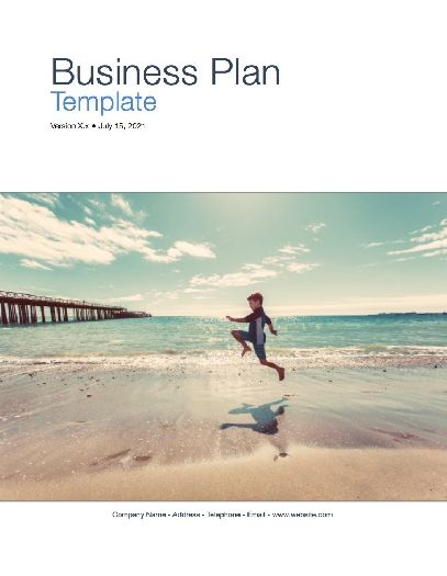 Business Plan Template Apple IWork PagesNumbers - Business plan numbers template