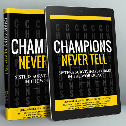 Champions Never Tell Logo