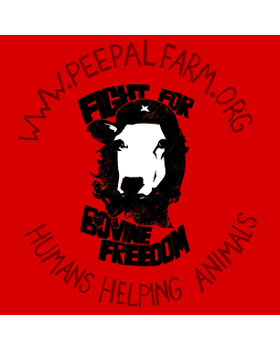 Fight for Bovine Freedom Sticker