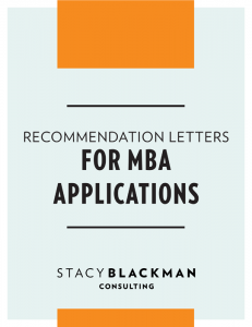 letters of recommendation mba