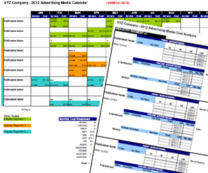 Media Plan Template | Advertising Media Plan Template