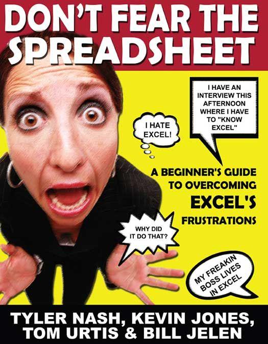 Don't Fear the Spreadsheet PDF e-Book