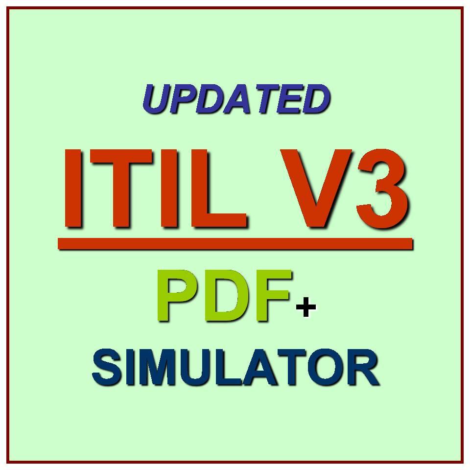 itil v3 foundation test exam qa pdf simulator