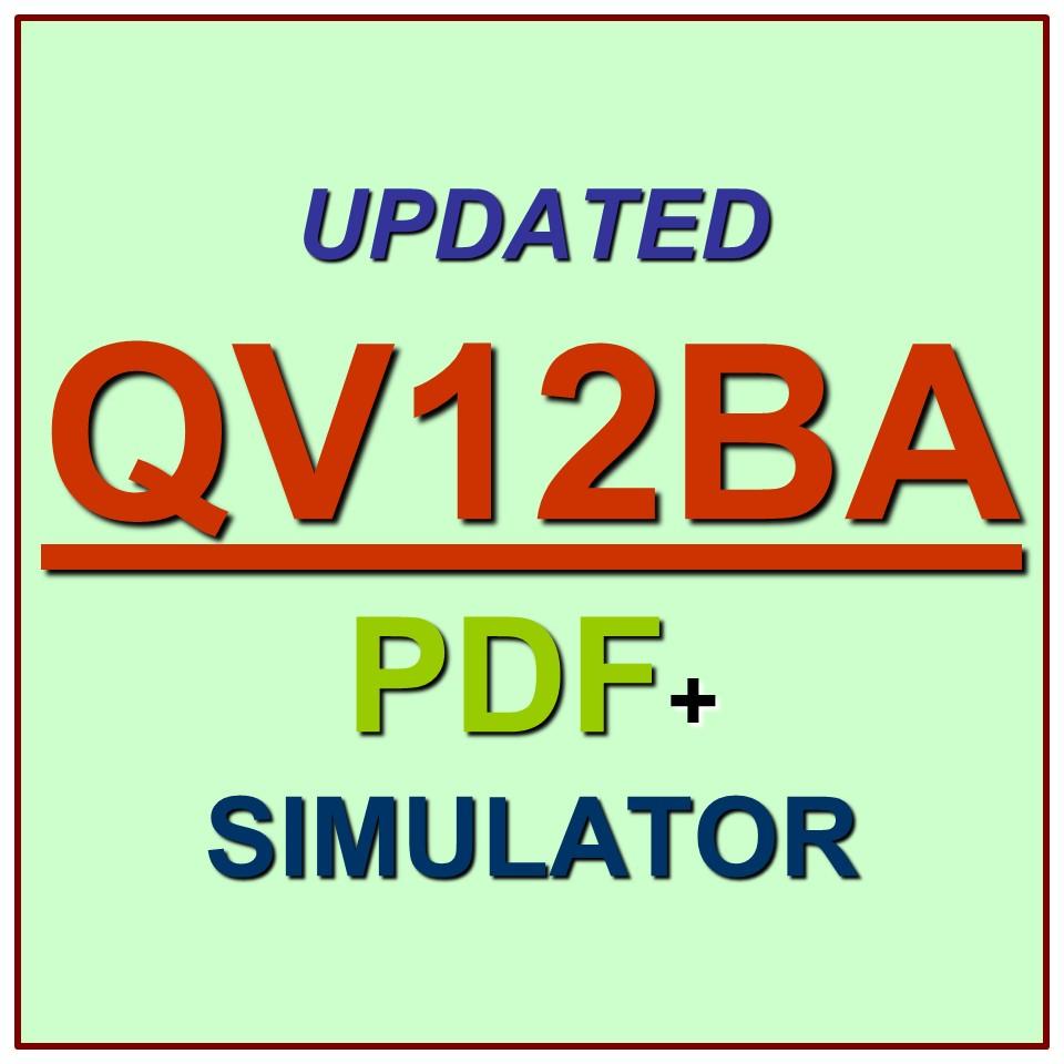 Qlik QlikView 12 Business Analyst Certification Test
