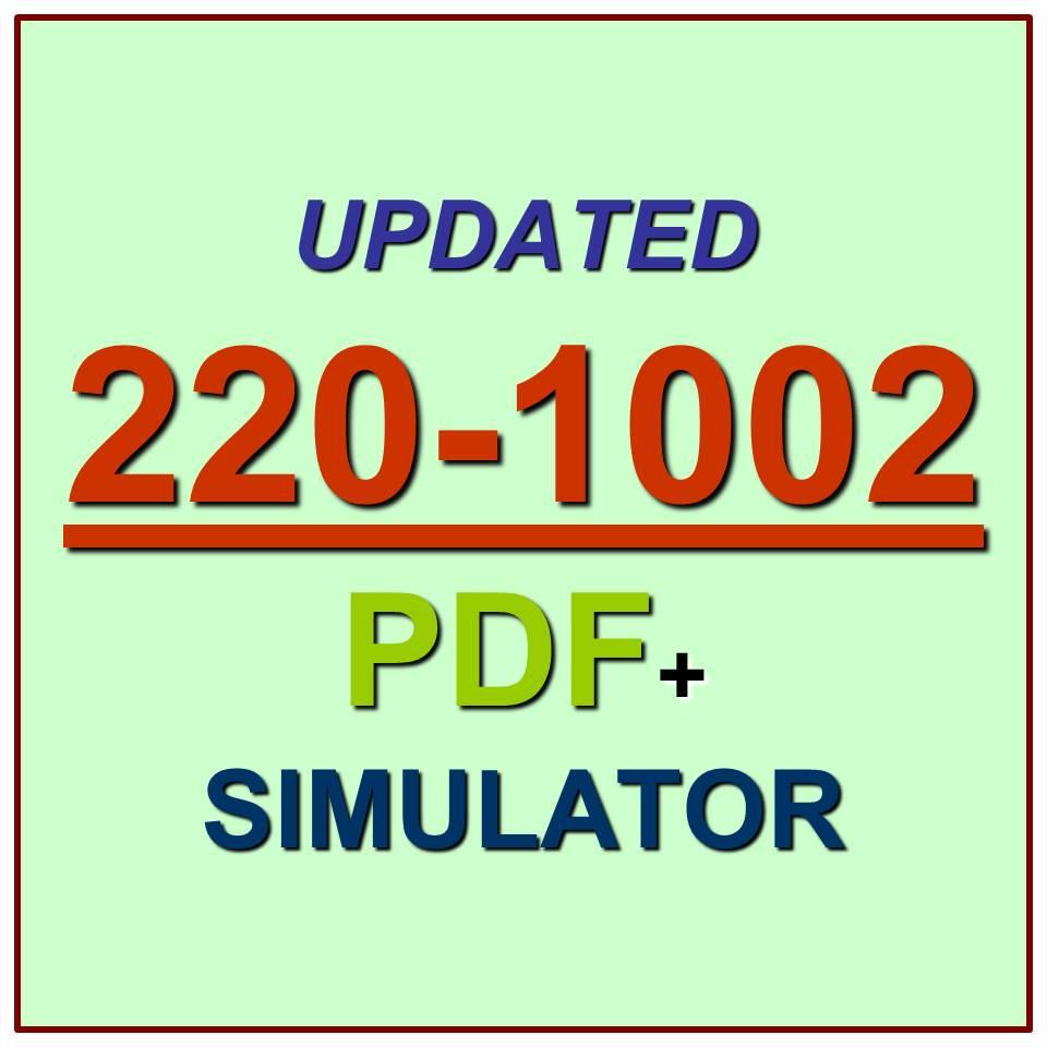 core exam 1002 test certification comptia 1001 pdf plus sim simulator qa question junkie