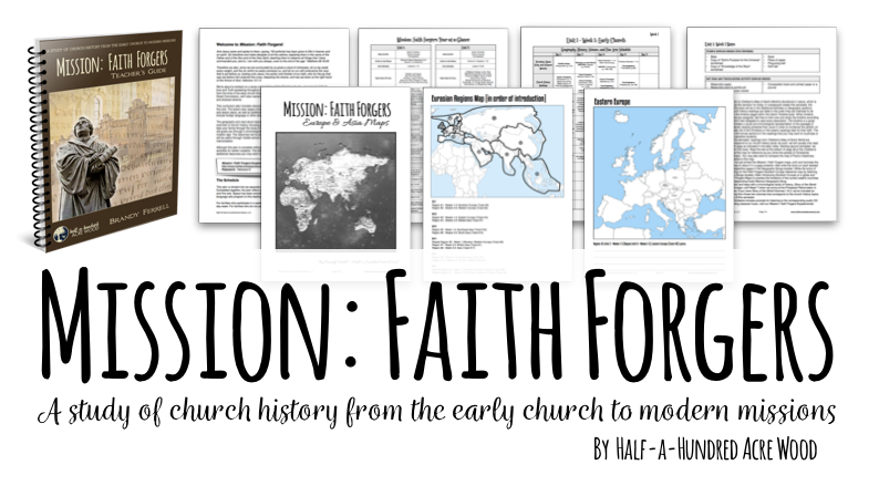 Mission Faith Forgers Partial Curriculum Package