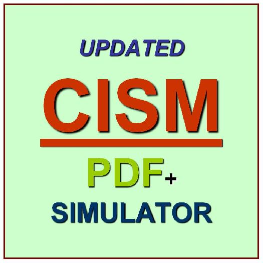 ISACA Certified Information Security Manager CISM Practice