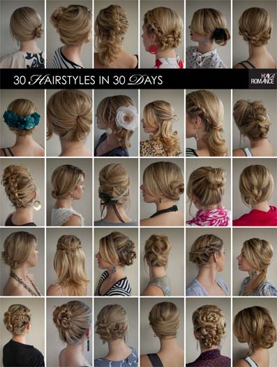 30 Days Of Twist Pin Hairstyles The Book