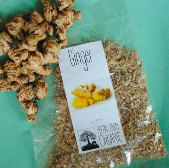 Dry Organic Ginger